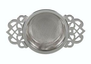 Avanti Empress Tea Strainer with Drip Bowl