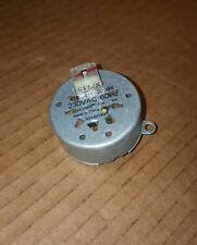 Whilrpool Invensys Dryer Timer Motor 418-611-20-B5 1/43.2 RPM 8 Tooth W10185970