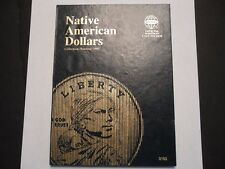 2009 - 2017 PD Sacagawea Native American Dollar Set Whitman Folder (18 coins)
