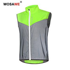 Cycling Vest Reflective Vest Breathable BMX Bike Gilet Running Hi Viz Jerseys