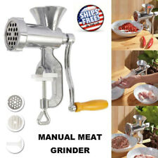 Easy Manual Meat Grinder Durable Mincer Sausage Filler Chopper Sauce Pasta Maker