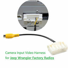 Rearview Camera Input Interface Harness for Jeep Wrangler All OEM Display Radios