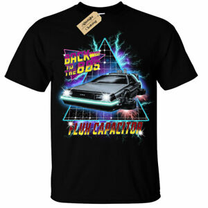 Back to the 80's T-Shirt future retro flux capacitor mens