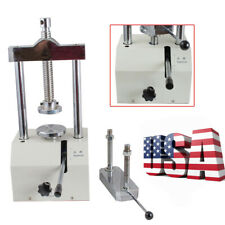 Dental Lab Hydraulic Press Flask 2T Presser Pressure Lifting Dentistry Equipment