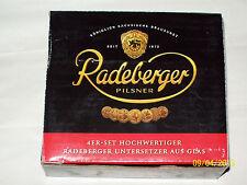 Glasuntersetzer / Untersetzer von Radeberger Pilsener