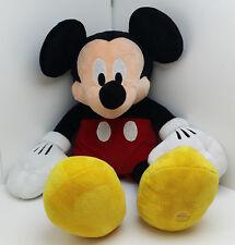 "XXL Huge OFFCIIAL DISNEY MICKEY MOUSE Plush Toy Cuddle Bed Buddy 32"" DISNEYLAND"