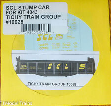 Tichy Train Group #10028 Decal for: Seaboard Coast Line Stump Car