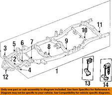 TOYOTA OEM 89-95 Pickup Frame-Crossmember 5120435350