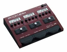 NEW Zoom B3n Multi Effect Processor Stomp Pedal for Bass From Japan F/S