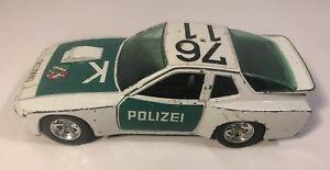 Burago Porsche 924 Turbo 1:24 Scale Italy Police