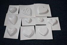 10 tolle Herzen Seifenform Gipsformen