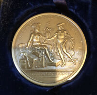 "U.S. MINT LARGE  ""TO PEACE AND COMMERCE"" DIPLOMATIC MEDAL OF 1792"