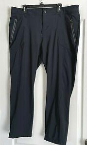 Columbia Pants Omni-Shield Black Stretch Hiking Camping Pockets 1X 18W 20W