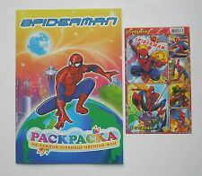 Spiderman Coloring Book16 pages(16x23cm)+Stickers1sheet 4x6''(10x15cm)