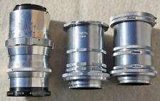 Vintage Ihagee Exacta 35mm Film camera Extension Tubes & lens