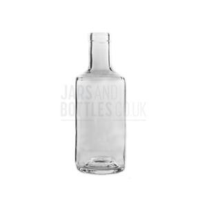 500ml Spirit 'Titus' Bottle perfect for spirits, Gins, Vodka, Rum (Inc Corks)