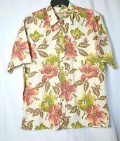 COOKE STREET Men's SIZE XL Print Hawaiian Short Sleeve Shirt