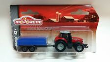 Majorette 212057430 - Farm - Massey Ferguson 8737 Mit Anhänger -Neu