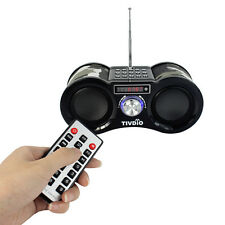 Portable Stereo Speaker FM Radio USB Disk TF Card MP3/WMA Music Player US Ship