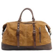 Duffel Bag Men Canvas Carry On Weekend Bag Vintage Shoulder Bag Travel Tote
