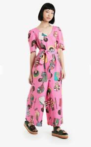 🔮 New OBUS Imaye x Norwegian artist Olana Janfa Jumpsuit Pantsuit AU14/16  🔮