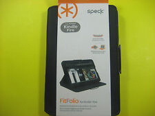 SPECK FITFOLIO COVER FOR KINDLE FIRE BLACK COLOR