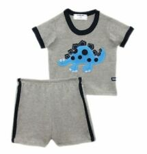 Oshkosh Gray Dinosaur Baby Set Boys Wear Infant Clothing Size 3 months