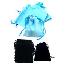 100Pcs Mini Soft Velvet Drawstring Pouch Wedding Favor Pouch Xmas Gift Bags