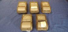 Lot of 5 Zebra QL 320 Plus Mobile Thermal Printers (PARTS)