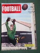 CHARLES BUCHAN'S- FOOTBALL MAG - DEC 1956  - BERT WILLIAMS - ACCRINGTON STANLEY