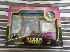 Pokemon Hidden Fates Mew Pin Collection Box - Brand New and Sealed