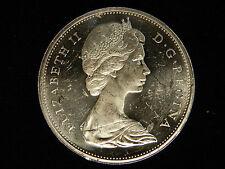 1965 Canada Silver Dollar SB Pointed 5 - UNC - PL