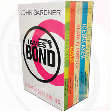 James Bond Collection John Gardner 5 Books Set Death is Forever,Licence to Kill