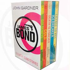 James Bond Collection John Gardner 5 Books Set Death is Forever,Licence to Kill