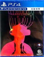 Transference Asia Chinese/English subtitle Support VR PS4 BRAND NEW