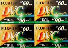 Cassettes Mini DV 4 Sony 1 JVC Vierges 60 min pour Camescopes