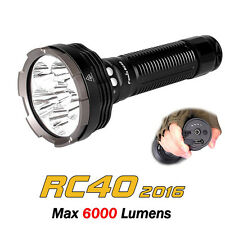 Fenix RC40 2016 Cree 6x Cree XM-L2 LEDs 6000 Lumens Searchlight Flashlight Torch