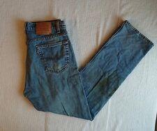 Mens Levi 505 Jeans Regular Fit Straight Leg W36 X L32 Vintage Usa Made B206