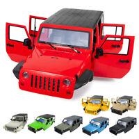 313MM Wheelbase  Body Shell for 1/10 RC Car Jeep Wrangler SCX10 II 90046 90047