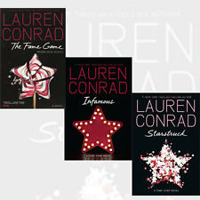 Lauren Conrad Collection Fame Game Series 3 Books Set Starstruck, Infamous NEW