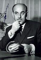 Artur Brauner - original handsigniertes Großfoto - Filmproduzent - hand signed