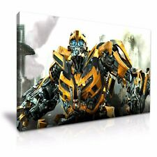 Transformers Bumblebee Stretched Canvas 76x50cm / 30X20 Inch