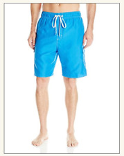 Laguna Men's Locked In E-Boardshort, Turquoise/White, Large