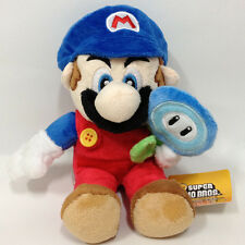 "New Super Mario Bros. Plush Ice Mario Soft Toy Stuffed Animal Teddy Doll 7"" NWT"