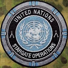 UNITED NATIONS UN STARGATE OPS SG-1 SGU PATCH V.1