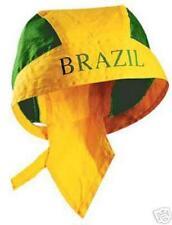 Brésil Bandana Coupe du monde WM Foulard Chapeau Casquette Brésil Brasilia