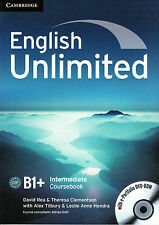 Cambridge ENGLISH UNLIMITED INTERMEDIATE B1+ Coursebook with DVD-ROM @NEW@