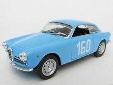 wonderful modelcar ALFA ROMEO GIULIETTA SV TF 1957 #160 - blue -  scale 1/43