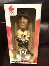 Joe Sakic 2002 Hand Painted Bobble Head Team Canada NHL Hockey NEW