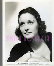 VINTAGE PHOTO 1940  GAIL PATRICK My Favorite Wife RKO Portrait rare original